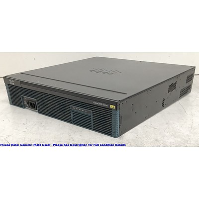Cisco (CISCO2921/K9 V08) 2900 Series Integrated Services Router