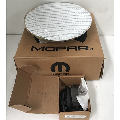 Mopar Brake Discs and Pads -Brand New