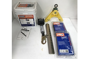 Bailey Professional Roof Workers Kit, Assorted Harnesses and Safety Gear - Mostly New