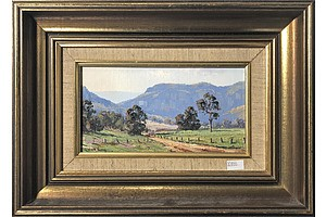 Werner Filipich (1943-) Kangaroo Valley, Oil on Canvas Board