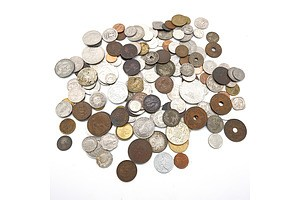 Assorted of World Coins including Vintage