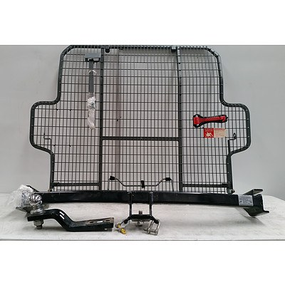 Trail Boss Tow Bar To Suit Toyota Rav 4 2006 And On And Cargo Barrier