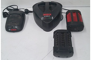 Bosch Battery Chargers And Batteries