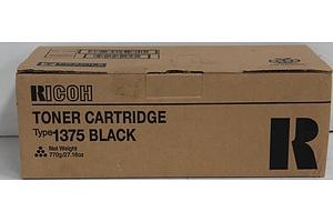 Ricoh Type 1375 Black Toner Cartridge