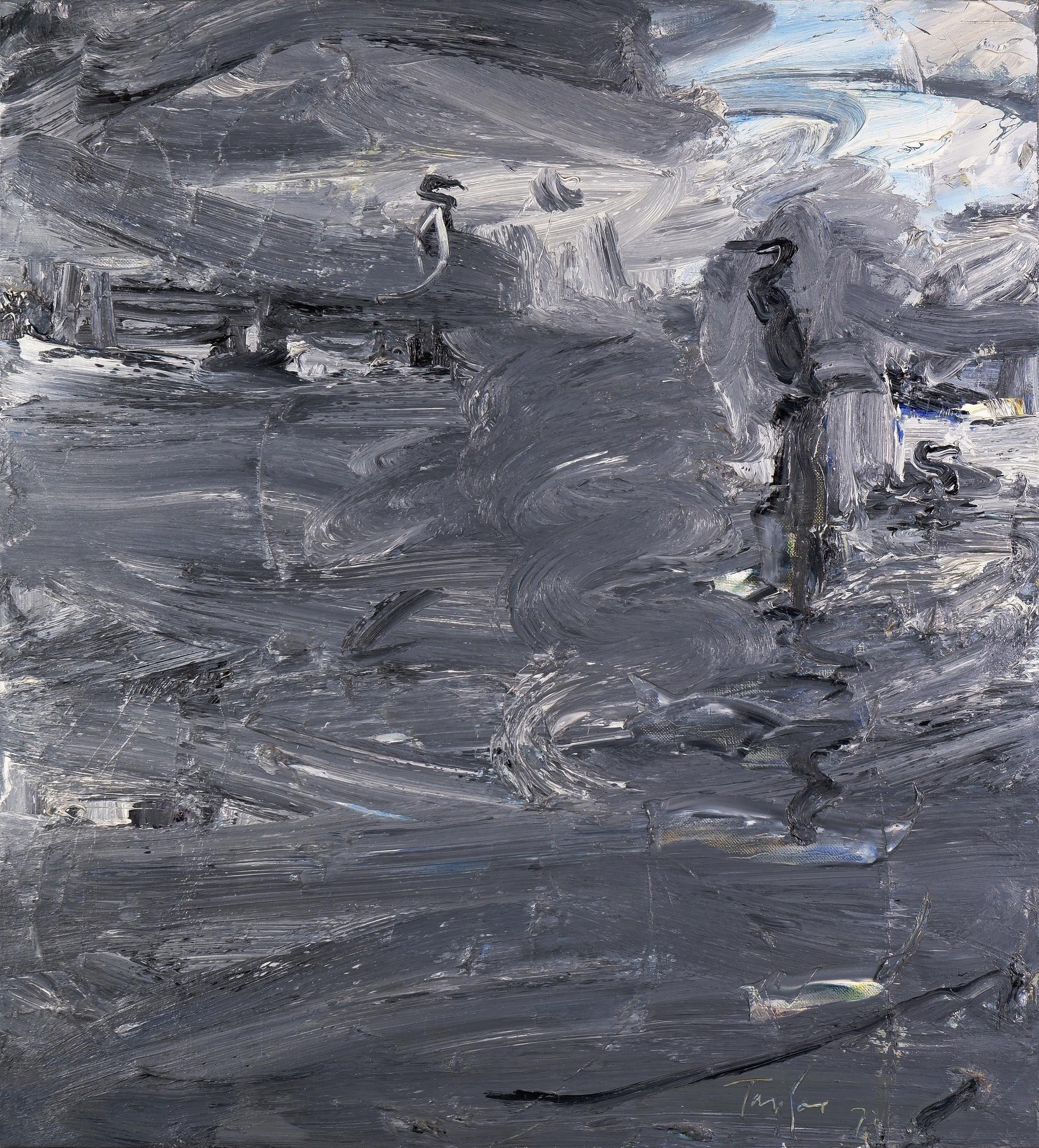 'Michael Franklin Taylor (born 1933), Morning Bermagui 1979, Oil on Canvas, 106 x 96 cm'