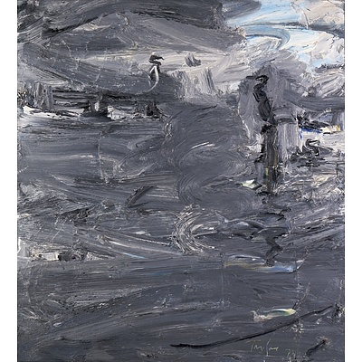 Michael Franklin Taylor (born 1933), Morning Bermagui 1979, Oil on Canvas