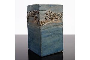 Hiroe Swen (Japan, Australia 1934-) Glazed Stoneware Vase