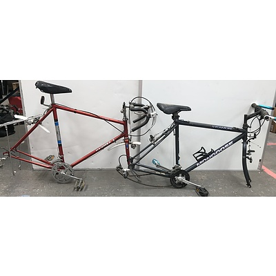 Hanimex and Mongoose Bike Frames