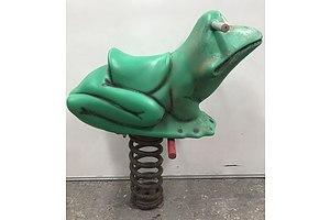 Playground Rocking Frog
