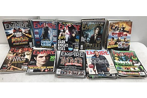 63 Issues Of Empire Movie Magazine