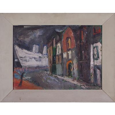 Judy Cassab (1920-2015), Woolloomooloo, Oil on Board