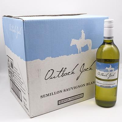 Case of 12x Outback Jack 2020 Semillion Sauvignon Blanc 750ml