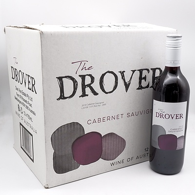 Case of 12x The Drover 2019 Cabernet Sauvignon 750ml