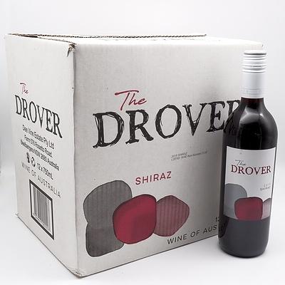 Case of 12x The Drover 2019 Shiraz 750ml