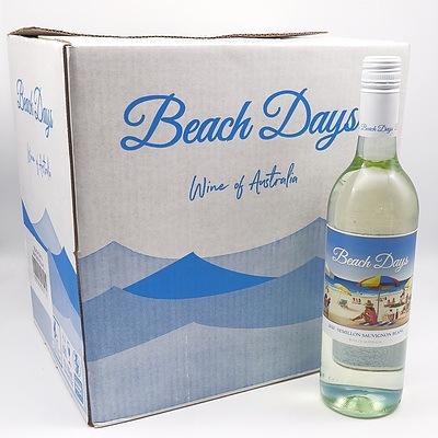 Case of 12x Beach Days 2020 Semillion Sauvignon Blanc 750ml