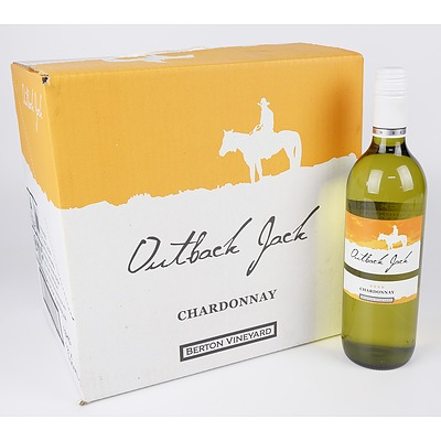 Case of 12x Outback Jack 2020 Chardonnay 750ml
