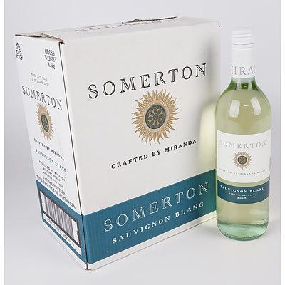 Case of 6x Somerton 2018 Sauvignon Blanc 750ml