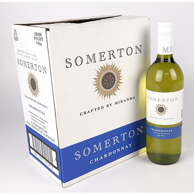 Case of 6x Somerton 2019 Chardonnay 750ml
