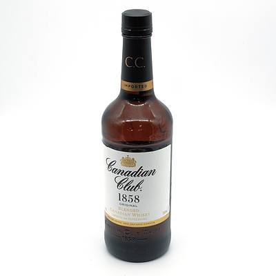 Canadian Club Blended Canadian Whiskey 700ml