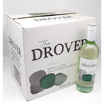 The Drover 2020 Semillon Sauvignon Blanc 750ml Case of 12