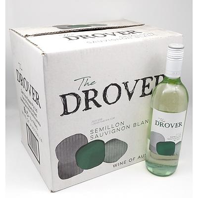 The Drover 2020 Semillon Sauvignon Blanc 750ml Case of 12