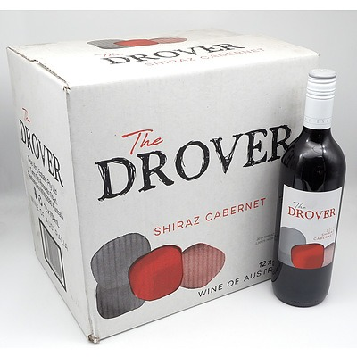 The Drover 2019 Shiraz Cabernet 750ml Case of 12