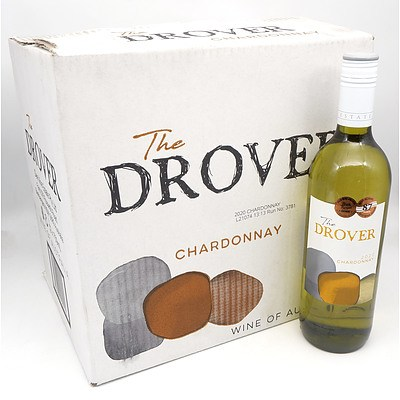The Drover 2020 Chardonnay 750ml Case of 12