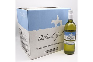 Case of 12x Outback Jack 2020 Semillion Sauvignon Blanc 750ml