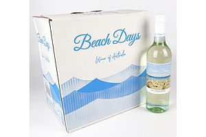Case of 12x Beach Days 2020 Chardonnay 750ml