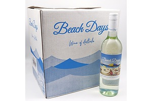 Beach Days 2020 Semillion Sauvignon Blanc 750ml Case of 12