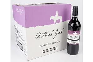 Outback Jack 2020 Cabernet Merlot 750ml Case of 12