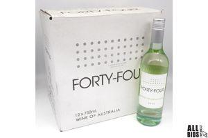 Fourty-Four 2020 Semillion Sauvignon Blanc 750ml Case of 12