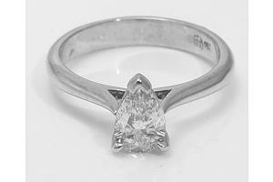 Gia Certified D Colour Diamond Ring & Wedder