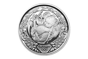 Australia: 2000 Sydney Olympic $5 Coins Proof Silver