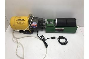 Davey Spa Pump and Rock Tumbler