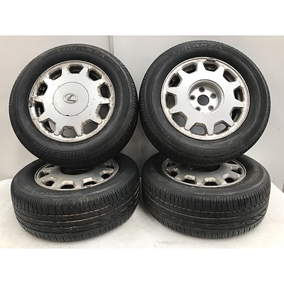 16 Inch Lexus IS400 Rims -Set Of Four