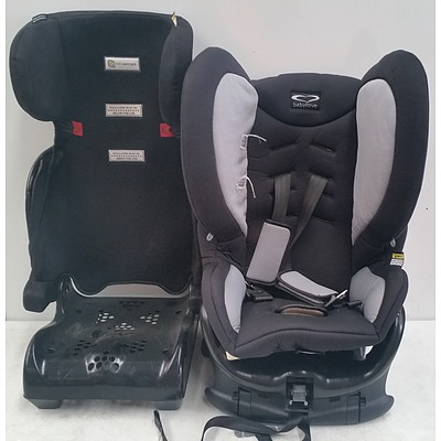 Infasecure and Babylove Infant Car Seats - Lot of Two