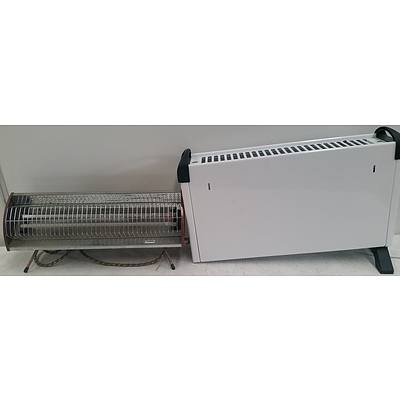 Electric Space Heaters - Lot of Two