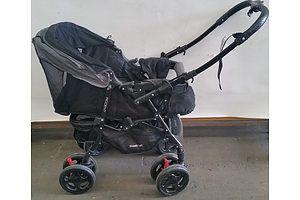 Steelcraft Accent Four Wheel Stroller
