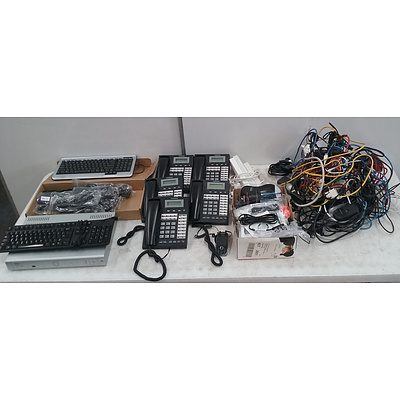 Bulk Lot Of Assorted Electrical Components