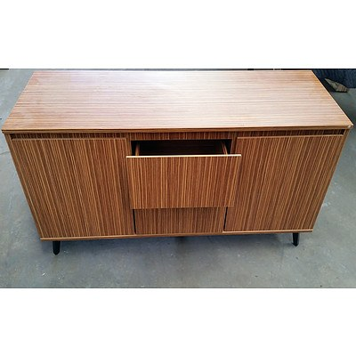 Office Table And Side Board