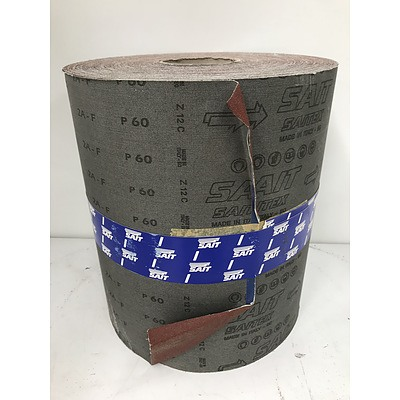 Sait P60 Abrasive Paper Roll