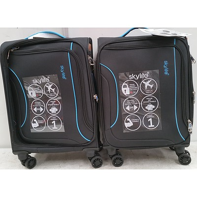 Skylite Overnight Travel Bags - Lot of Two - New