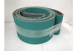 Siabite 2503 Ceramic Aluminum Oxide Abrasive Belts -Lot Of Four