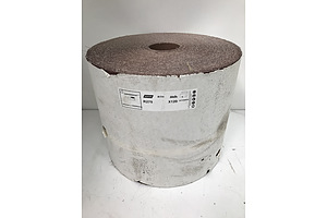 Norton P120 Abrasive Paper Roll