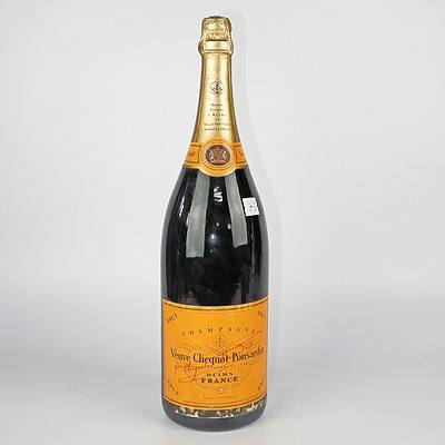 Vintage Veuve Clicquot Bicentenary 1772-1972 Brut Yellow Label One Jeroboam (3 Litre) Champagne, Unopened