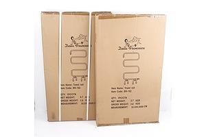 Two Della Francesca Towel Rails - Brand New