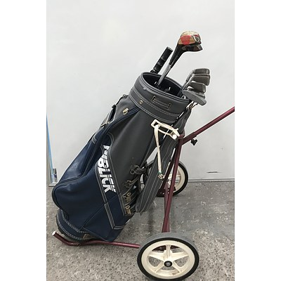 Golf Set With Bag and Buggy