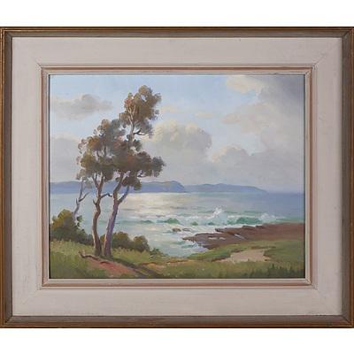 Erik Langker (1898-1982), Evening After Rain, Oil on Board