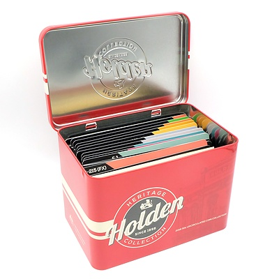 2016 Holden Heritage Collection Set of Eleven 50 Coin with Heritage Coin and Tin